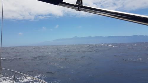 In der WAZ zw. Gran Canaria und Teneriffa